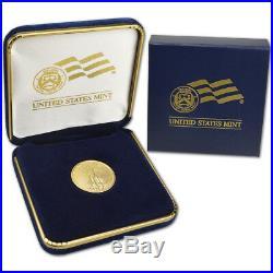 2019 American Gold Eagle 1/4 oz $10 BU coin in U. S. Mint Gift Box