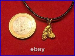 2,710g Alaska Yukon GOLD NUGGET Anhänger + Halskette Gold Nuggets! Coin