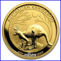 (4) CH/GEM BU 1/4 oz. 2019 $25 Gold Australian Kangaroo Coin 1/4 Ounce. 9999