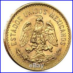 5 Pesos Mexican Gold Coin (Random Year)