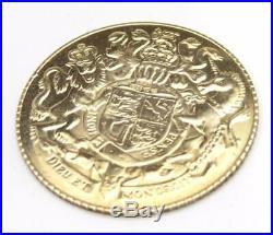 9ct Solid Gold Commemorative Coin 1977 ER11 Silver Jubilee Original Box Free p&p