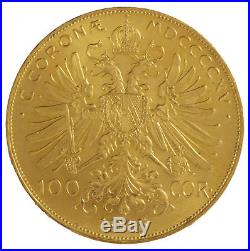 Austrian 100 Corona Gold Coin Random Year