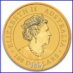 CH/GEM BU 1 oz. 2019 $100 Gold Australian Kangaroo Coin 1 Ounce. 9999