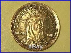 Caciques De Venezuela Siglo Xv1 Ley 900 Gold Token Coin Mara