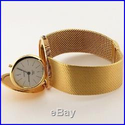 Chopard $20 Dollars Liberty Coin 18K Solid Gold Bracelet Mechanical Watch 34.5mm