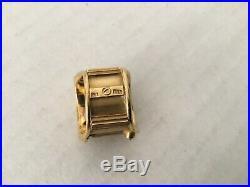 Fine Estate18k Solid Gold Ancient Roman Coin Ring by Nino Veruti