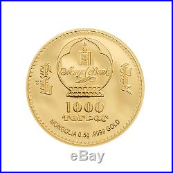 GOLD COIN KARL MARX GOLDMÜNZE 0.5 g 9999 AU PROOF 2019 LE GRAND MINT-SHOP
