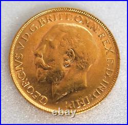 Georgivs 1918 Antique Coin Solid Gold