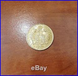 Gold Coin Austria 1 Dukat 1915 Franz Joseph I