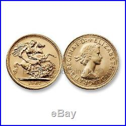 Great Britain 1967 Sovereign Gold Coin SKU#6604