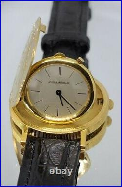 Jaeger leCoultre $20 Liberty Gold Double Eagle Coin Watch 22K/18K Very Rare
