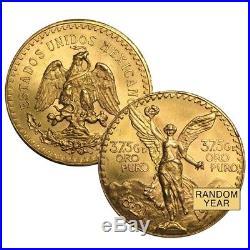 Lot of 2 50 Pesos Mexican Gold Coin (Random Year)