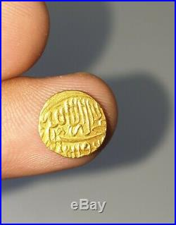 Rare Ancient Islamic Gold Coin Founded In Afghanistan Weighing 0.9 Grams