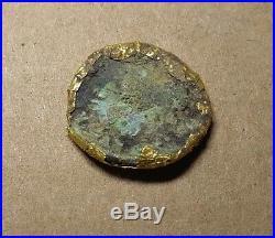 Rare Ancient Roman Republic Gold Fourrees coin, Barbarian 100-300AD Unique! #247