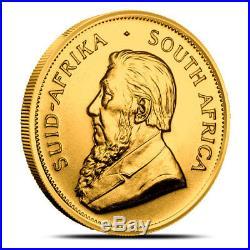 South Africa 1 oz Gold Krugerrand Coin Random Year (Dates Our Choice) BU