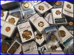 US GOLD COINS ESTATE LOT 1x PCGS or NGC OLD $2.5 $5 $10 P, S, D, CC PRE-1933