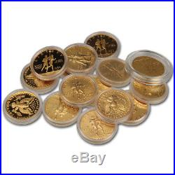 US Gold $10 Commemorative Coins (. 48375 oz) Random Date