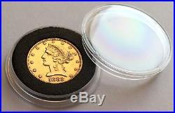 Uncirculated 1882 American Gold Half Eagle Coin Liberty Head San Francisco Mint