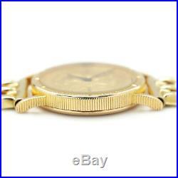 Vintage Corum $5 Liberty Head Gold Coin Watch Quartz 1893