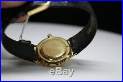 Womens Lucien Piccard 14K Solid Gold $10 Eagle Coin Wind Watch 28mm